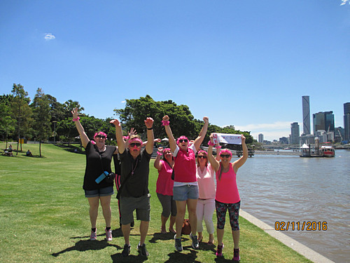 Pink Team Brisbane Amazing Race