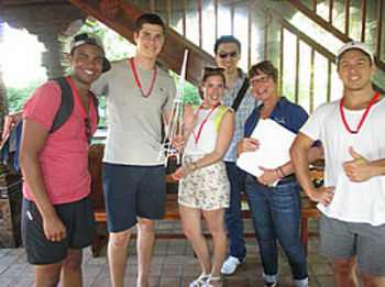 Brisbane Amazing Race Red Team